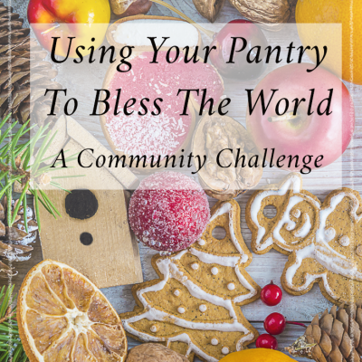 Using Your Pantry To Bless Your World – Holiday Challenge!