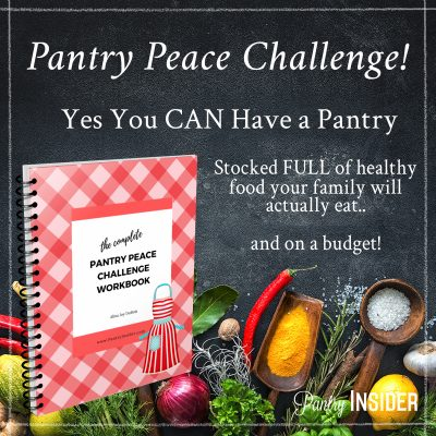 "The ""Pantry Peace"" Challenge!"